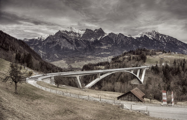 puente de arco más alto de Europa