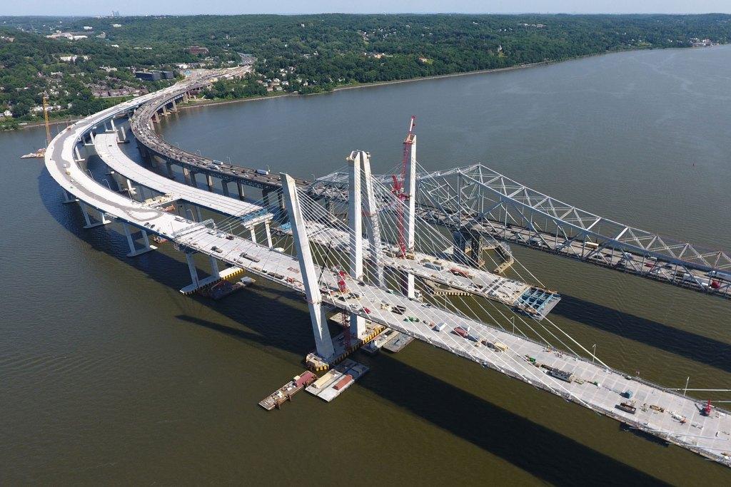 El nuevo puente Tappan Zee de Nueva York se abrirá al tráfico a finales de Agosto