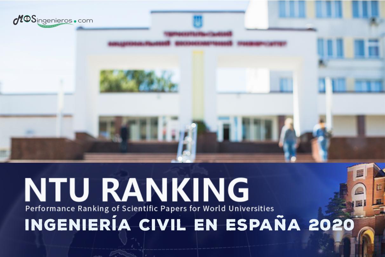 Mejores universidades de ingeniería civil en España según  NTU | Rank de Taiwan